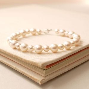 Bliss Pearl Wedding Bracelet - bracelets & bangles
