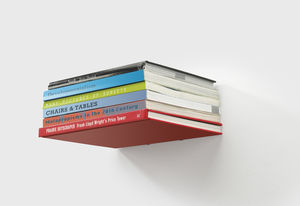 Invisible Floating Bookshelf - stands, rails & hanging space