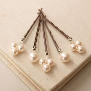 Bliss Pearl Bridal Hair Pins