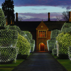 280 White Net Lights - lights & lanterns