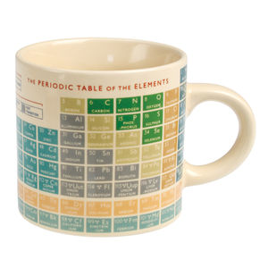 Periodic Table Mug - home sale