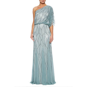 One Shoulder Tulle Maxi Dress - best-dressed guest