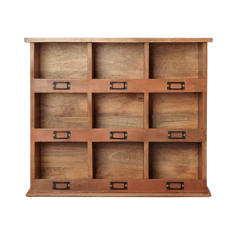 Storage Cubby Unit By Within Home Notonthehighstreet Com