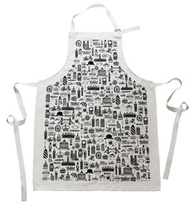 Illustrated British Apron