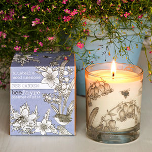 Bluebell And Anemone Scented Candle - home accessories