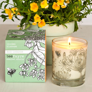 Lime Blossom Scented Candle - candles & home fragrance