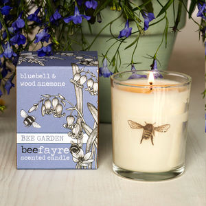 Bluebell And Anemone Scented Votive Candle - votives & tea light holders