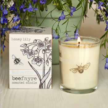 Honey Lily Scented Votive Candle