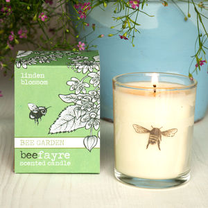 Linden Blossom Scented Votive Candle - votives & tea lights