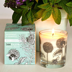 Watermint And Rosemary Scented Candle - home accessories