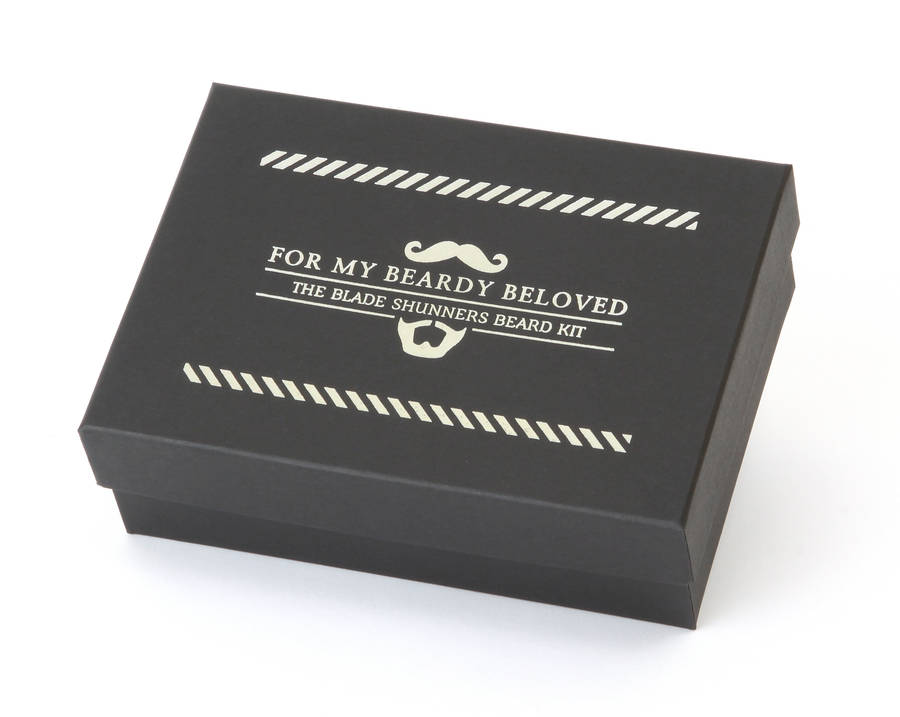 beard and moustache care gift set by men rock. Black Bedroom Furniture Sets. Home Design Ideas