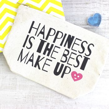 'Happiness Is The Best Make Up' Case