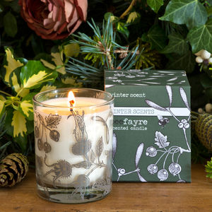 Winter Scent Large Scented Candle