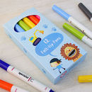A Box of 12 colouring pens (costs extra)