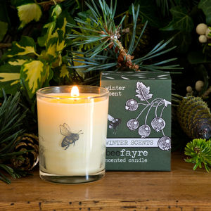 Winter Scent Small Scented Candle