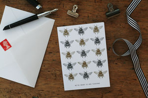 'We're Meant To Bee Together' Card