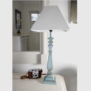 Blue Wash Table Lamp