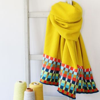 Locomotive Piccalilli Lambswool Wrap