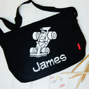 Personalised Child's Race Car Bag