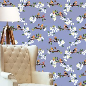Chaffinches Wallpaper - office & study