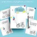 Amsterdam Bicyle |Tandem Bike Greeting Card