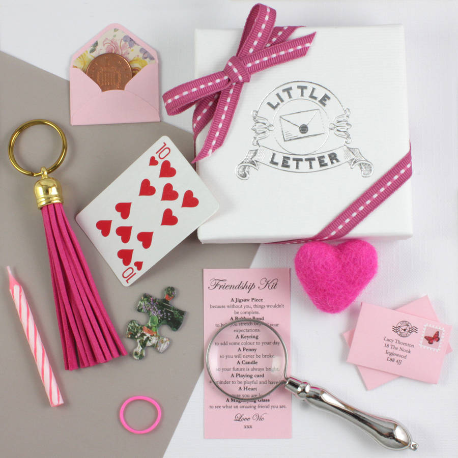 Personalised Mini Letter Birthday Keepsake Gift By Little
