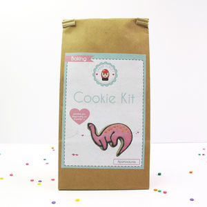 Apatosaurus Dinosaur Cookie Decorating Kit - kitchen