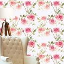 Spring Rose Pink Wallpaper