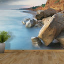 Rocky Shoreline Self Adhesive Wallpaper
