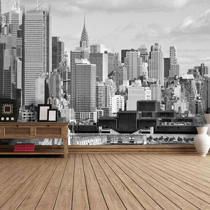 Hudson River New York Self Adhesive Wallpaper - office & study