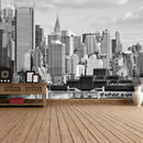 Hudson River New York Self Adhesive Wallpaper