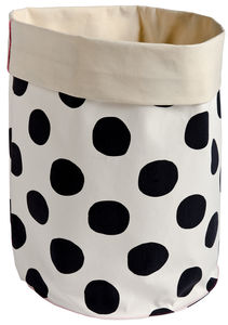 Large Black Spot Storage / Laundry Bag