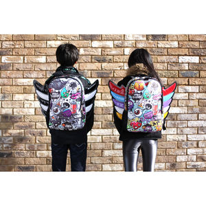 Urban Junk 'Fly High Junky With Wings' Student Backpack