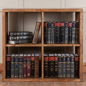 Solid Wood Cube Storage Unit