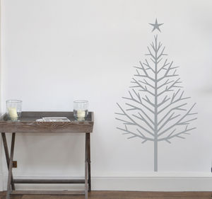 Christmas Tree Wall Sticker - christmas home