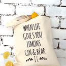 'Gin And Bear It' Tote Bag