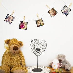 Personalised Photo Bunting - room decorations