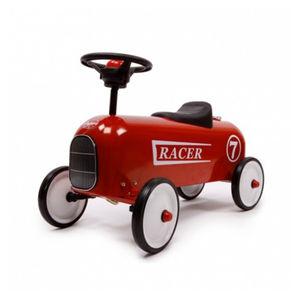 Red Racer Ride On Car - cars & trains