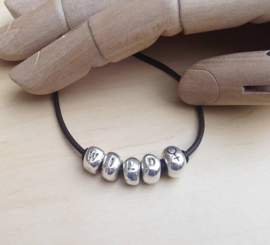 Personalised Abacus Bracelet