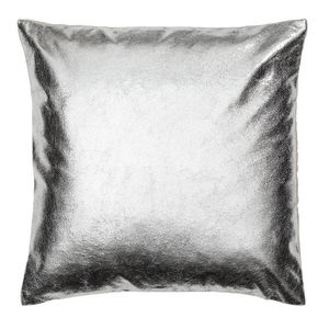 'Metalic Silver Cushion