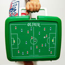 Personalised Traditional Football Lunchbox