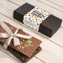 Smarty Pants Congratulations Chocolate Bar Box Set