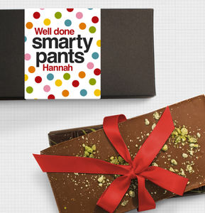 Smarty Pants Congratulations Chocolate Bar Box Set - exam congratulations gifts