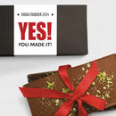 Congratulations Running Gift Chocolate Bar Box Set