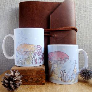 Toadstool Ceramic Mug