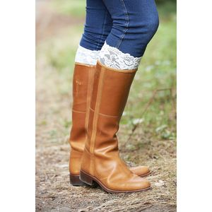 Stretch Lace Boot Cuff