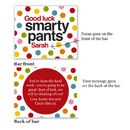 Personalised 'Smarty Pants' Chocolate Bar
