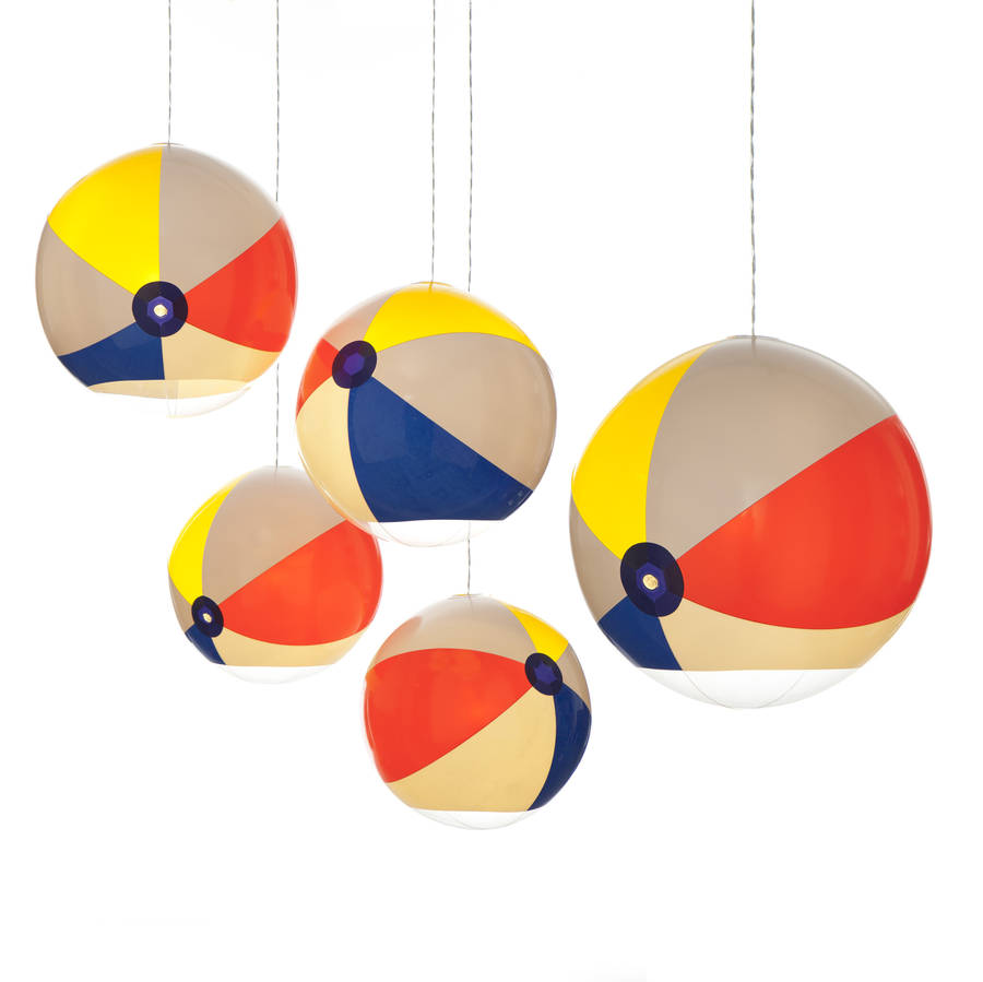 Beach Ball Light By Tobyhouse