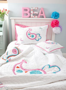 Paisley Quilted Pillowcase
