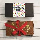 Personalised Birthday Chocolate Bar Box Set
